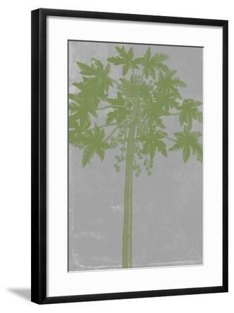 Chromatic Palms IX-Jennifer Goldberger-Framed Art Print