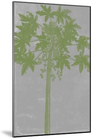 Chromatic Palms IX-Jennifer Goldberger-Mounted Art Print