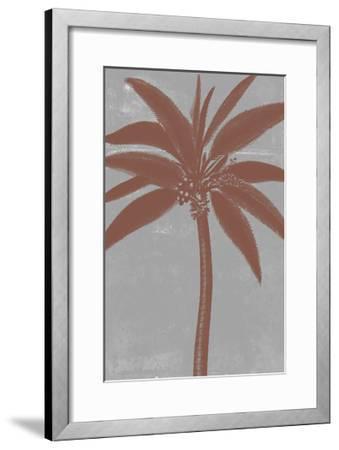 Chromatic Palms VII-Jennifer Goldberger-Framed Art Print