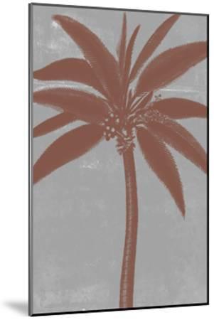 Chromatic Palms VII-Jennifer Goldberger-Mounted Art Print