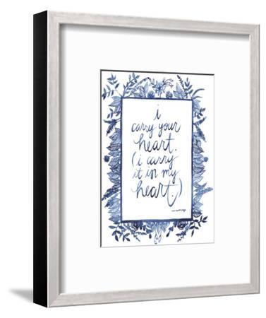 Love Quote III-Grace Popp-Framed Premium Giclee Print