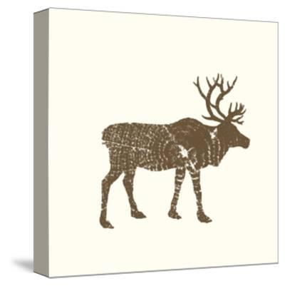 Timber Animals I-Anna Hambly-Stretched Canvas Print