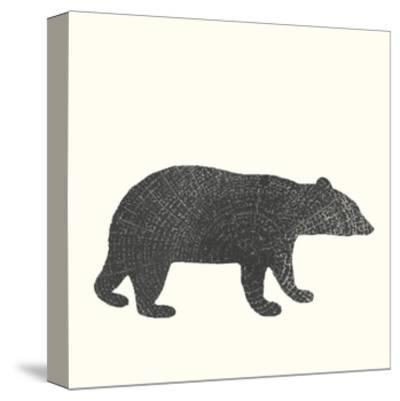 Timber Animals V-Anna Hambly-Stretched Canvas Print