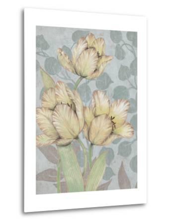 Trois Fleurs II-Tim OToole-Metal Print