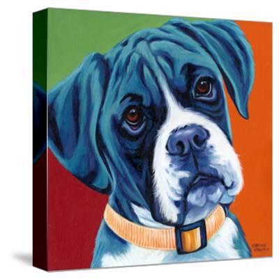 Cute Pups I-Carolee Vitaletti-Stretched Canvas Print