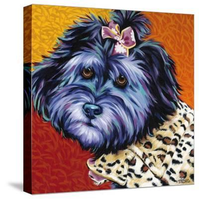 Cute Pups III-Carolee Vitaletti-Stretched Canvas Print