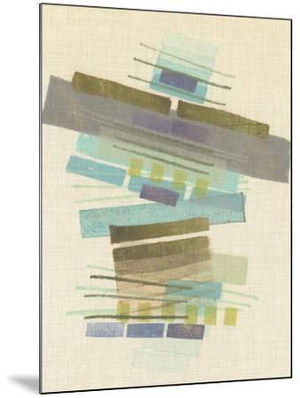 Balancing II-Nikki Galapon-Mounted Art Print
