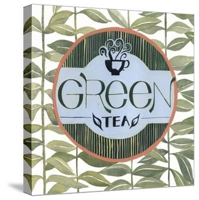 Tea Label III-Grace Popp-Stretched Canvas Print