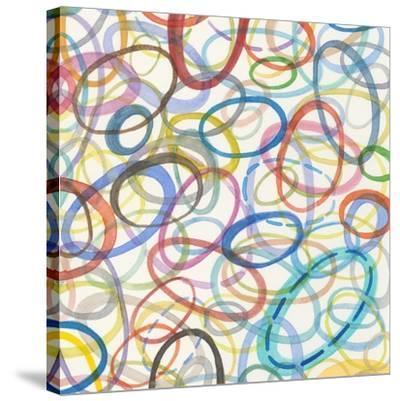 Oval Palette I-Nikki Galapon-Stretched Canvas Print