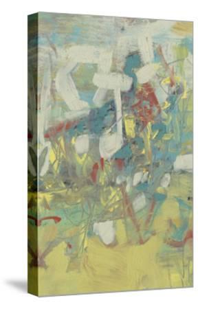 Graffiti Abstract II-Jennifer Goldberger-Stretched Canvas Print