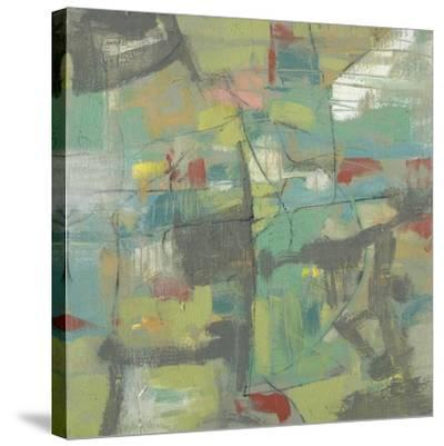 Kinetic Pastel I-Jennifer Goldberger-Stretched Canvas Print