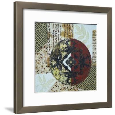 Fretwork Assemblage II-Heidi Coleman-Framed Art Print