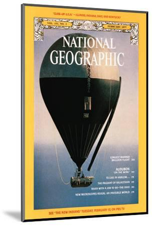 Cover of the February, 1977 National Geographic Magazine-Otis Imboden-Mounted Photographic Print