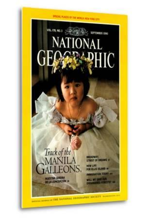 Cover of the September, 1990 National Geographic Magazine-Sisse Brimberg-Metal Print