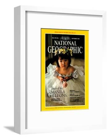 Cover of the September, 1990 National Geographic Magazine-Sisse Brimberg-Framed Photographic Print
