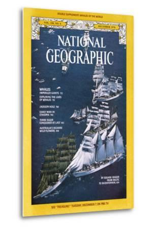 Cover of the December, 1976 National Geographic Magazine-Gilbert M^ Grosvenor-Metal Print