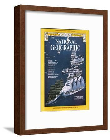 Cover of the December, 1976 National Geographic Magazine-Gilbert M^ Grosvenor-Framed Photographic Print