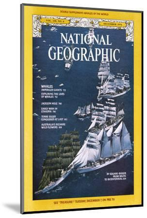 Cover of the December, 1976 National Geographic Magazine-Gilbert M^ Grosvenor-Mounted Photographic Print