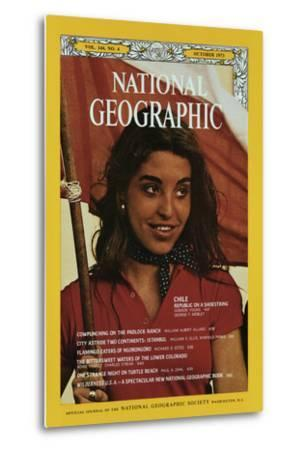 Cover of the October, 1973 National Geographic Magazine-George F^ Mobley-Metal Print