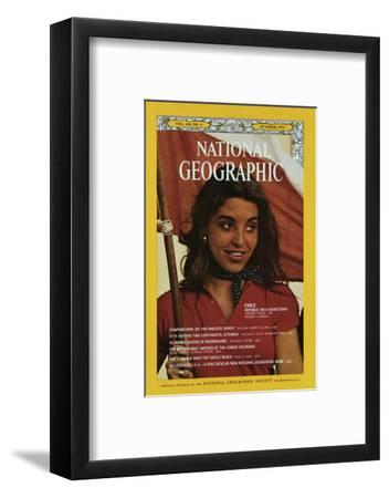 Cover of the October, 1973 National Geographic Magazine-George F^ Mobley-Framed Photographic Print