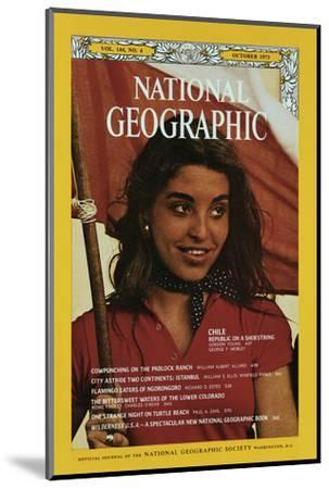 Cover of the October, 1973 National Geographic Magazine-George F^ Mobley-Mounted Photographic Print
