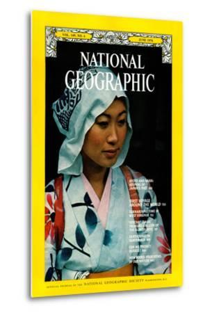 Cover of the June, 1976 National Geographic Magazine-George F^ Mobley-Metal Print