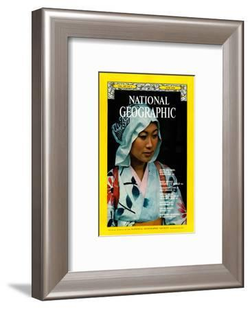 Cover of the June, 1976 National Geographic Magazine-George F^ Mobley-Framed Photographic Print