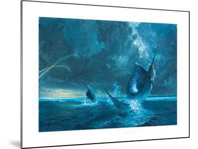 Double Header Against the Reef, 2003-Stanley Meltzoff-Mounted Giclee Print