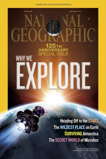 Cover of the January, 2013 National Geographic Magazine-Dana Berry-Photographic Print