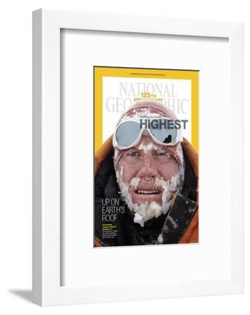 Cover of the January, 2013 National Geographic Magazine-Cory Richards-Framed Photographic Print
