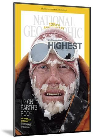 Cover of the January, 2013 National Geographic Magazine-Cory Richards-Mounted Photographic Print
