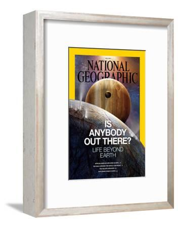 Full Cover (With Yellow Border Etc) of the Ngm 07-2014 Cover-Dana Berry-Framed Photographic Print