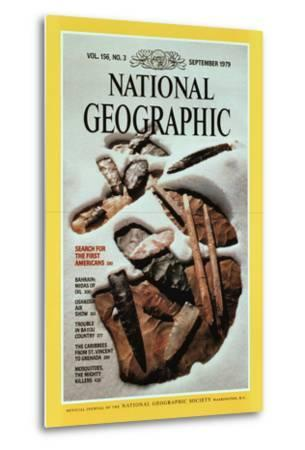 Cover of the September, 1979 National Geographic Magazine-David Arnold-Metal Print
