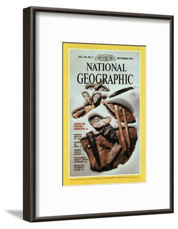 Cover of the September, 1979 National Geographic Magazine-David Arnold-Framed Photographic Print