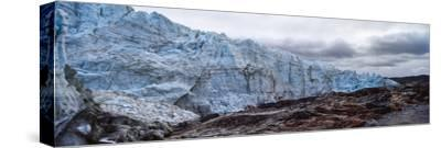 Striations Carved into the Bedrock by Ice Erosion as a Glacier Receded-Jason Edwards-Stretched Canvas Print