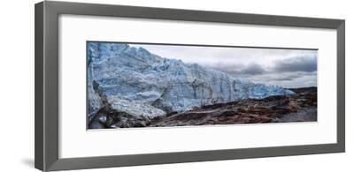 Striations Carved into the Bedrock by Ice Erosion as a Glacier Receded-Jason Edwards-Framed Photographic Print