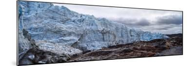 Striations Carved into the Bedrock by Ice Erosion as a Glacier Receded-Jason Edwards-Mounted Photographic Print