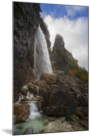 The Cascada Delle Comelle on the Liera River, Near Gares-Ulla Lohmann-Mounted Photographic Print