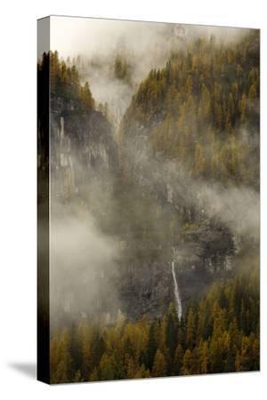 The Cascada Delle Comelle on the Liera River, Near Gares-Ulla Lohmann-Stretched Canvas Print