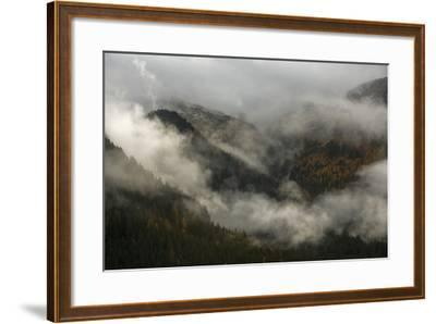 Clouds Drift over Forests in Lagorai-Ulla Lohmann-Framed Photographic Print
