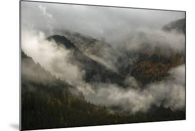 Clouds Drift over Forests in Lagorai-Ulla Lohmann-Mounted Photographic Print