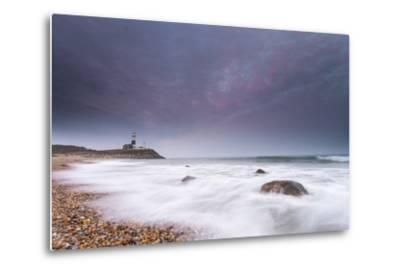 Montauk Point Lighthouse at Dusk-Robbie George-Metal Print
