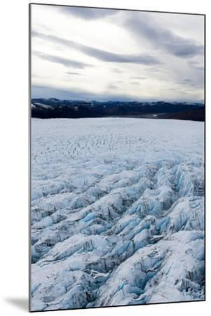 Pressure Ridges and Crevasse Scar the Surface of a Glacier on the Greenland Ice Sheet-Jason Edwards-Mounted Photographic Print