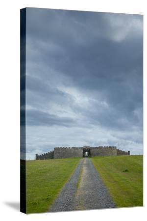 Downhill House on the Downhill Demesne-Tim Thompson-Stretched Canvas Print