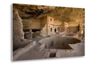 The Balcony House in Mesa Verde National Park-Phil Schermeister-Metal Print
