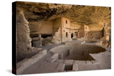The Balcony House in Mesa Verde National Park-Phil Schermeister-Stretched Canvas Print