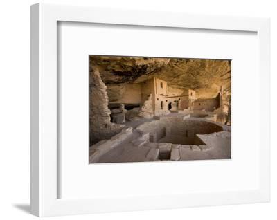 The Balcony House in Mesa Verde National Park-Phil Schermeister-Framed Photographic Print