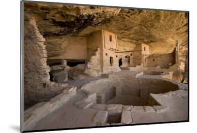 The Balcony House in Mesa Verde National Park-Phil Schermeister-Mounted Photographic Print