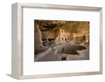The Balcony House in Mesa Verde National Park-Phil Schermeister-Framed Photographic Print