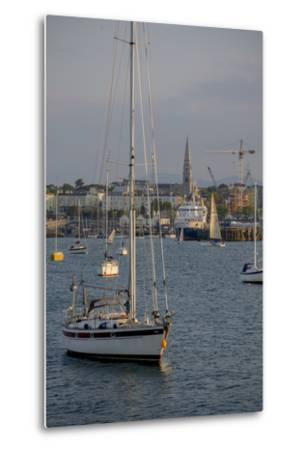 Harbour at Dun Laoghaire, a Suburb of Dublin-Tim Thompson-Metal Print